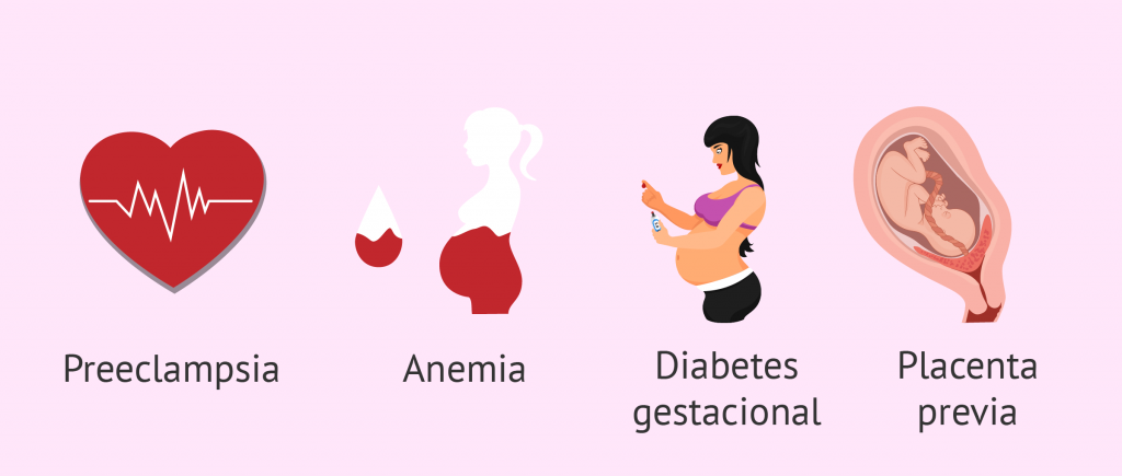 Algunas de las complicaciones en el embarazo